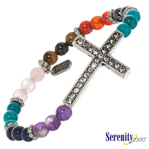 Chakras Health Bracelet - Cross