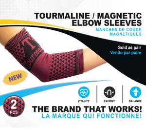 Tourmaline / Magnetic Elbow Sleeves