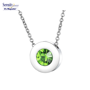 "Swarovski ""Crystal"" Magnetic Pendant Necklace"
