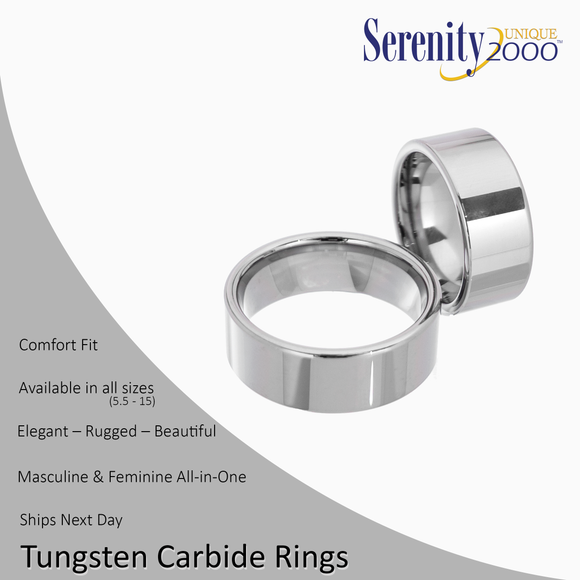 Eros - Tungsten Carbide Rings