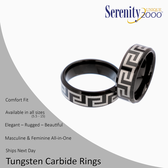 Heracles - Tungsten Carbide Rings