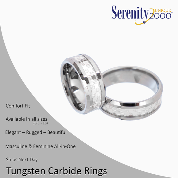 Phosphorus - Tungsten Carbide Rings