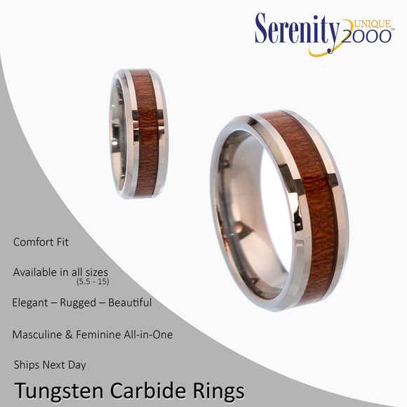 Silvanus - Tungsten Carbide Rings