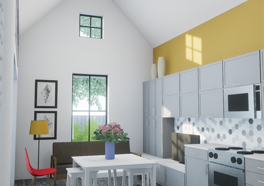 2.1a Cape Cod (tall loft) - Eco-Haus