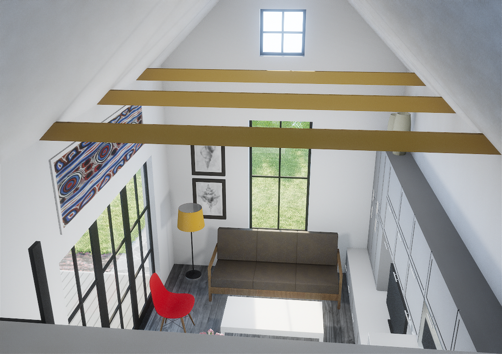 2.1a Gable (tall loft) - Eco-Haus