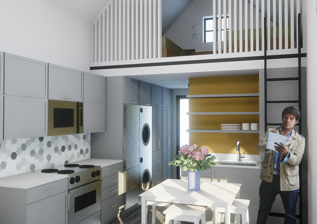 2.1a Farmhouse (tall loft) - Eco-Haus