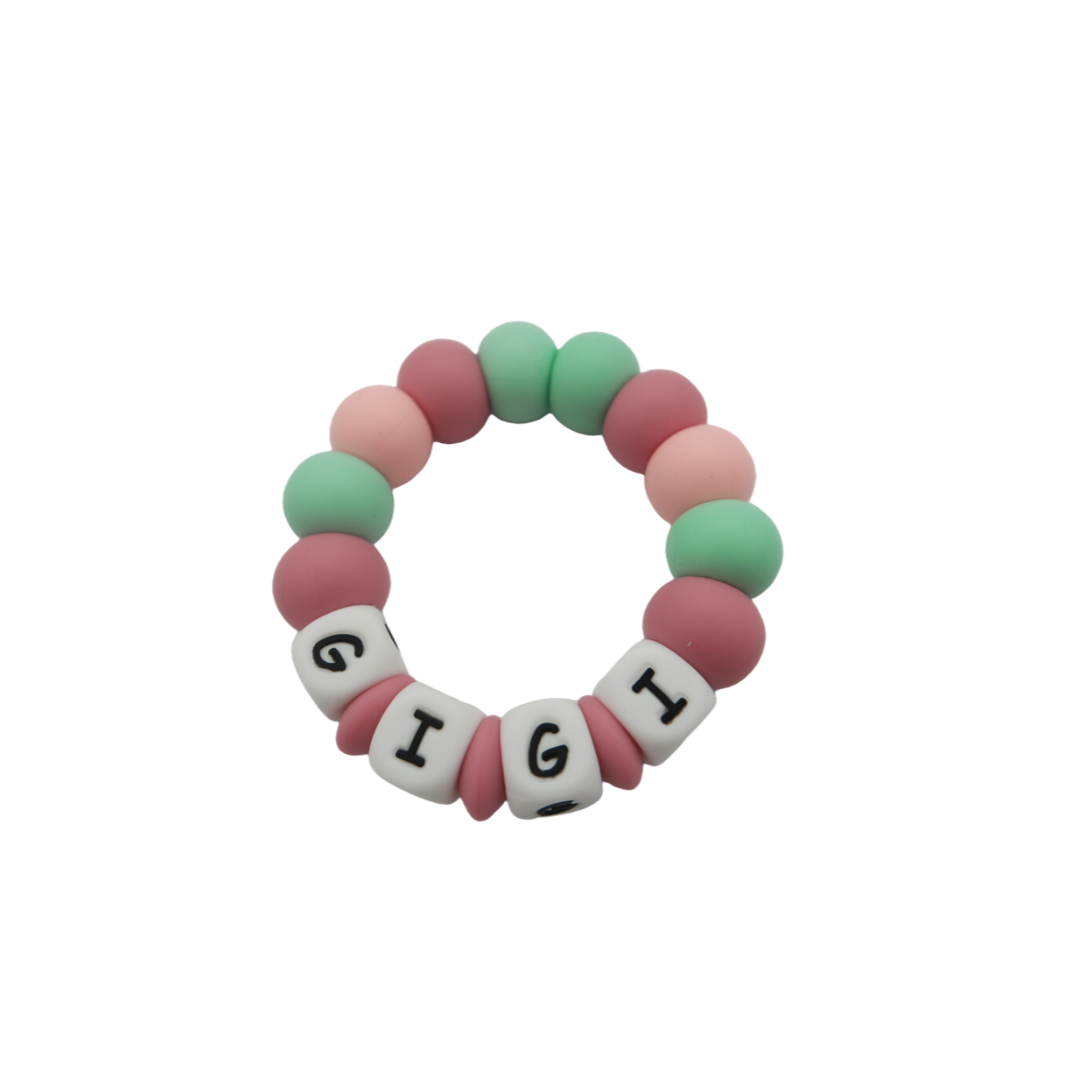 Personalised Silicone Teether