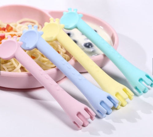 Silicone Feeding Spoon / Fork