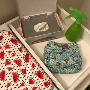 Everything You Need to Cloth Diaper + Homemade Baby Wipe Spray Recipe!