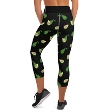 Avocado Yoga Capri Leggings