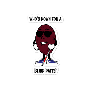 Blind Date Die Cut Stickers