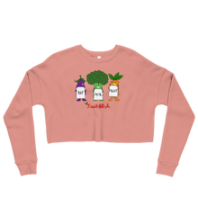 Eat Mor Fruit Crop Sweatshirt
