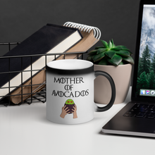 Mother of Avocados Matte Black Magic Mug