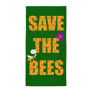 Save The Bees Towel