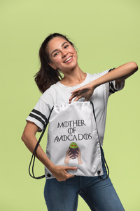 Mother of Avocados Drawstring bag