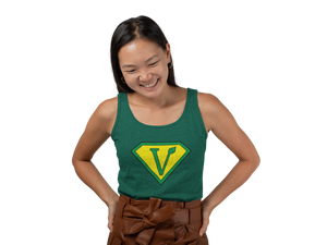 Vegan Superhero Unisex Tank Top