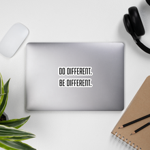 Do Different, Be Different Die Cut Sticker