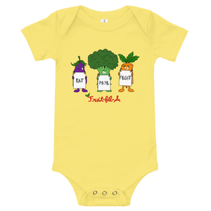 Eat Mor Fruit Onesie