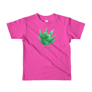 A-loe you! Short sleeve kids t-shirt