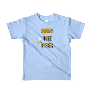 Save the Bees Short sleeve kids t-shirt