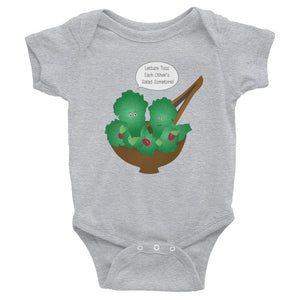 Toss Each Other's Salad Infant Bodysuit