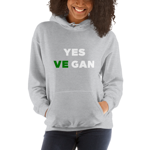 Yes VeGAN Hooded Sweatshirt