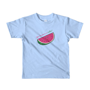One in a Melon Short sleeve kids t-shirt