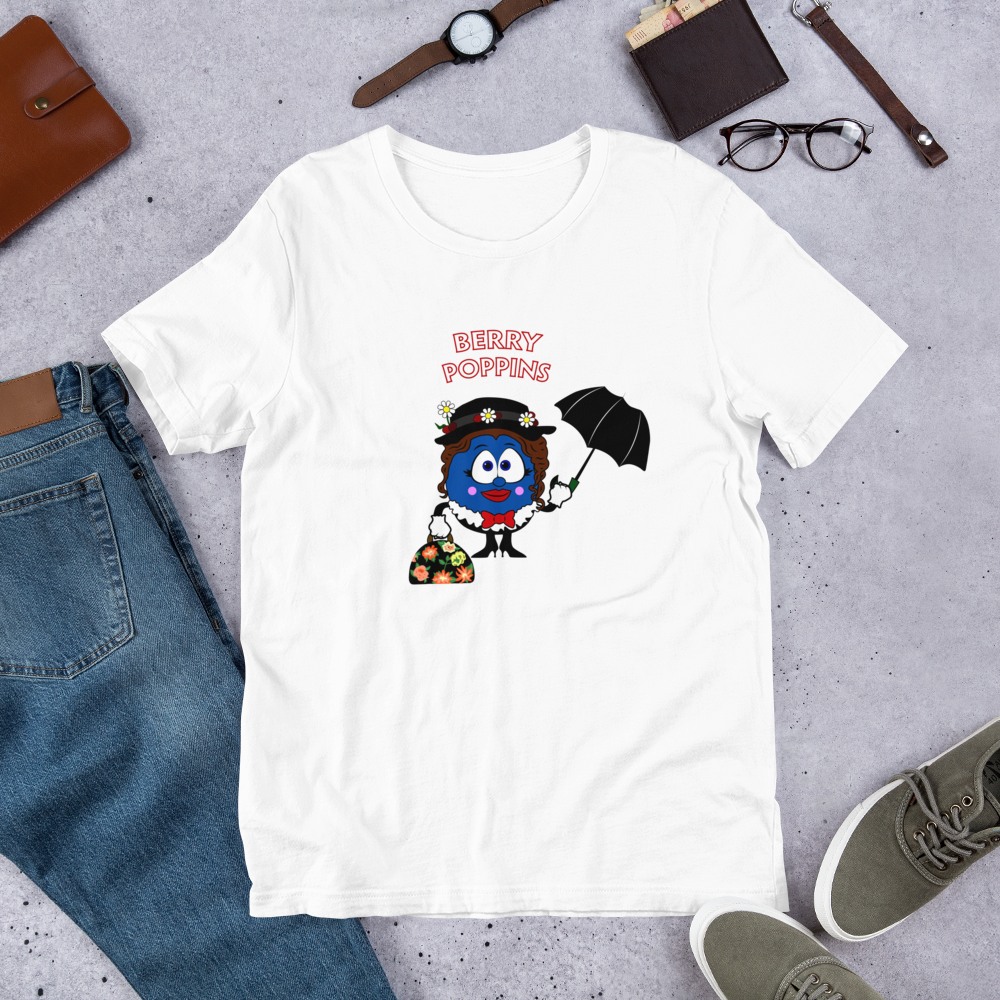 Berry Poppins Short-Sleeve Unisex T-Shirt
