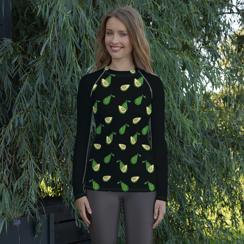 Avocado Women's Rash Guard