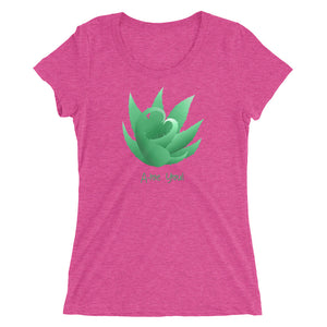 A-loe you! Ladies' short sleeve t-shirt