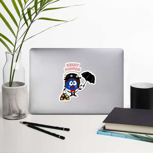 Berry Poppins Die Cut Sticker