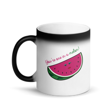 One in a Melon Matte Black Magic Mug