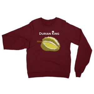 Durian King Unisex California Fleece Raglan Sweatshirt