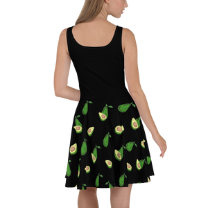 Avocado Skater Dress