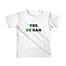 Yes VeGAN Short sleeve kids t-shirt