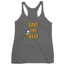 Save the Bees Women's Racerback Tank