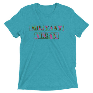 Militant Vegan Short sleeve t-shirt (for her)