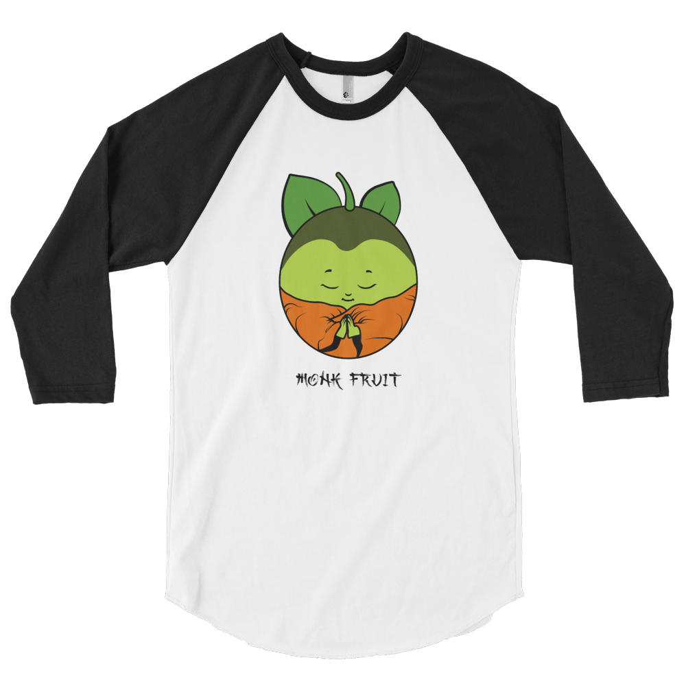 Monk Fruit 3/4 sleeve raglan shirt