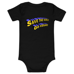 Vegan Superhero Onesie