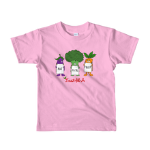 Eat Mor Fruit Short sleeve kids t-shirt