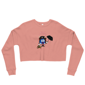 Berry Poppins Crop Sweatshirt