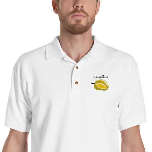 Durian King Embroidered Polo Shirt