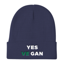 Yes VeGAN Knit Beanie