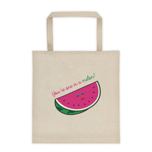 One in a Melon Tote bag