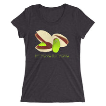 Pistachio Mustachio Ladies' short sleeve t-shirt