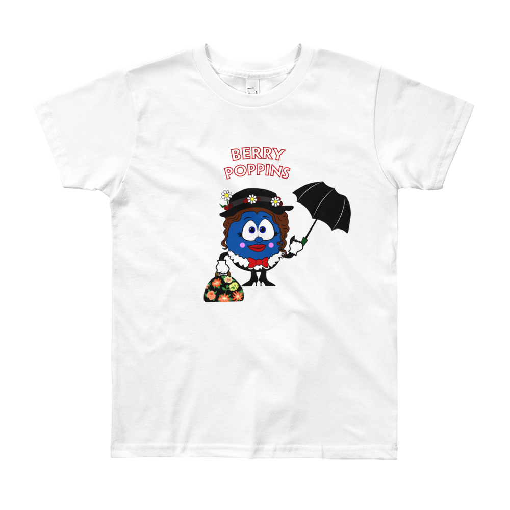 Berry Poppins Youth Short Sleeve T-Shirt