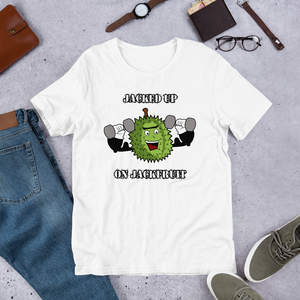 Jacked Up On Jackfruit Short-Sleeve Unisex T-Shirt