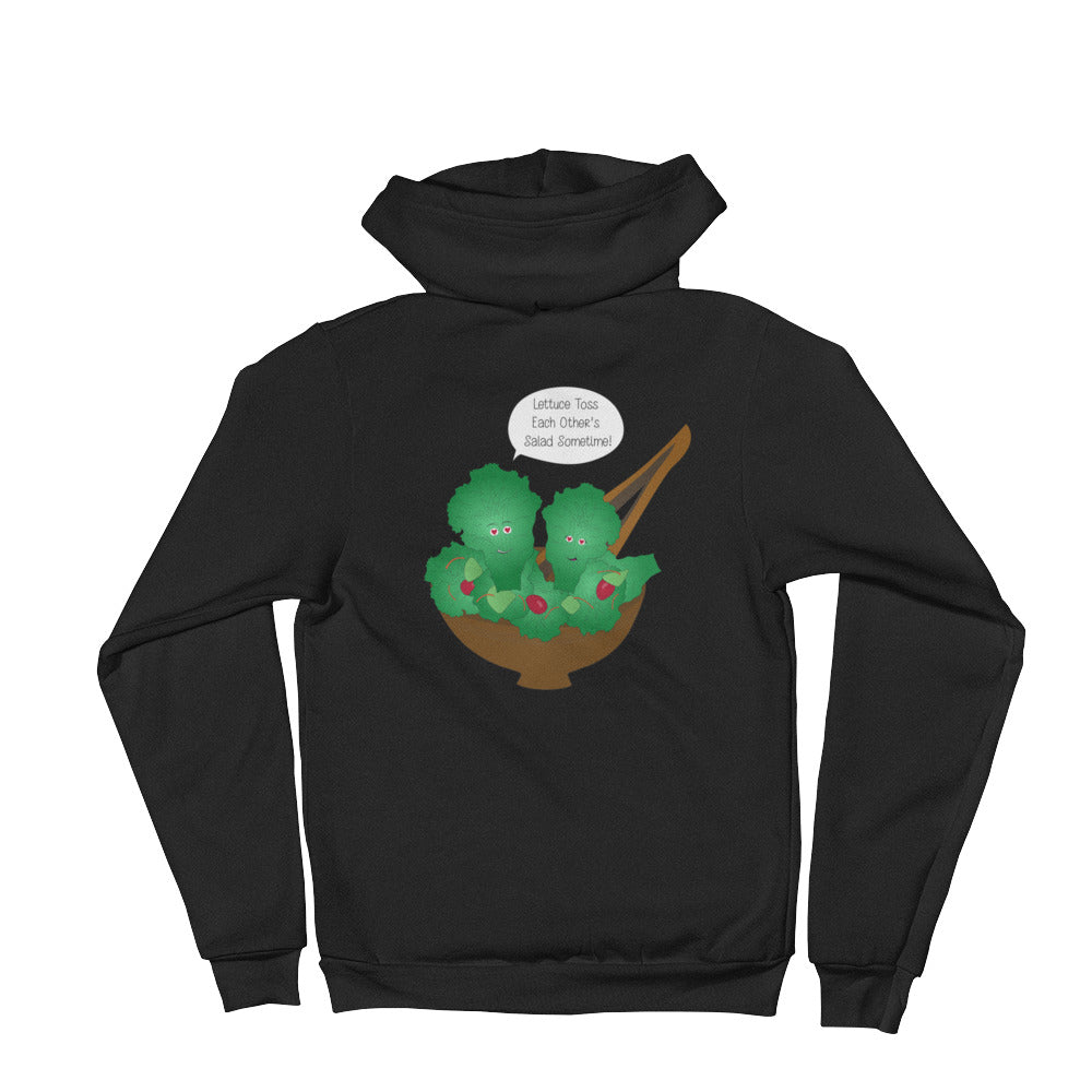 Toss Each Other's Salad Hoodie sweater