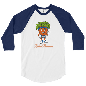 Richard Persimmons 3/4 sleeve raglan shirt
