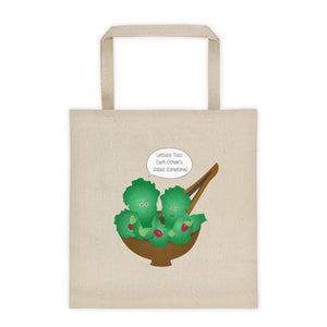 Toss Each Other's Salad Tote bag